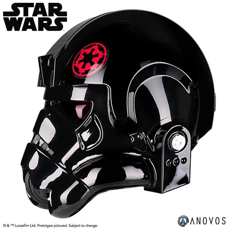 ANOVOS - STAR WARS Inferno Squad Commander Helmet  Infern12
