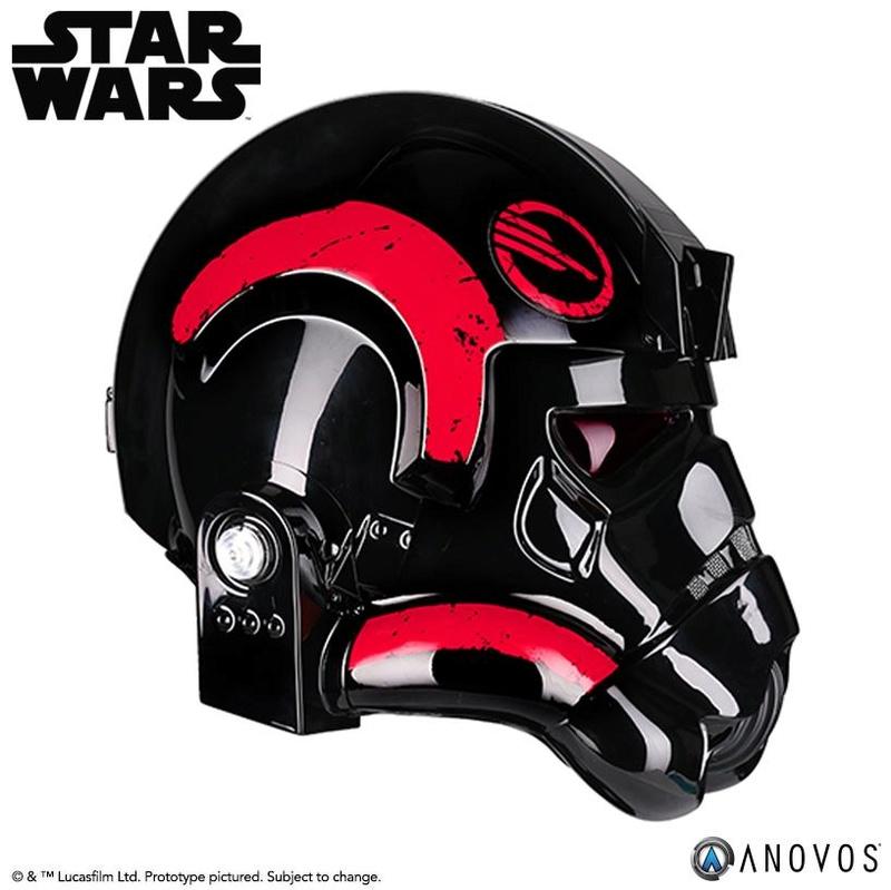 ANOVOS - STAR WARS Inferno Squad Commander Helmet  Infern13