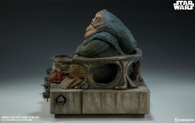 Sideshow - Jabba & Throne Deluxe Sixth Scale Figure Set Jabba_18