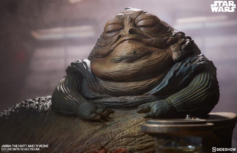 Sideshow - Jabba & Throne Deluxe Sixth Scale Figure Set Jabba_41