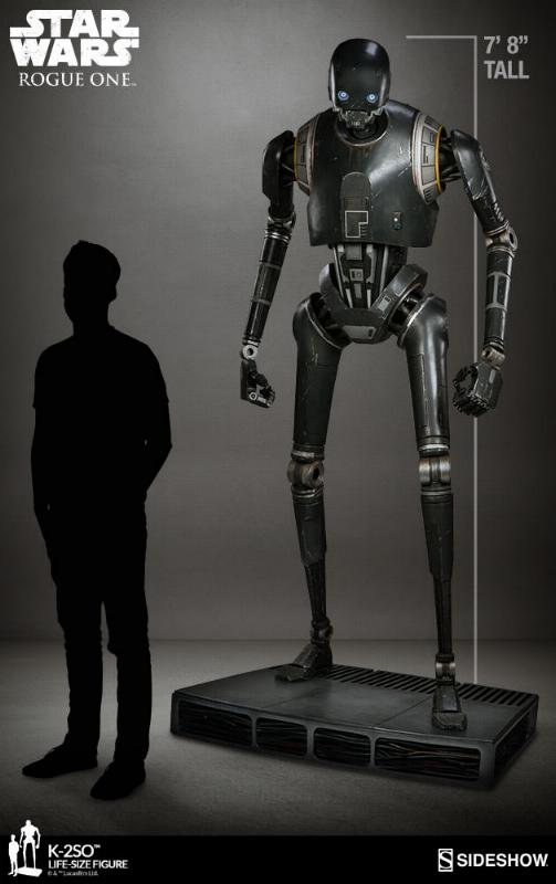 Sideshow Collectibles Star Wars  K-2SO Life-Size Figure K2so_l11
