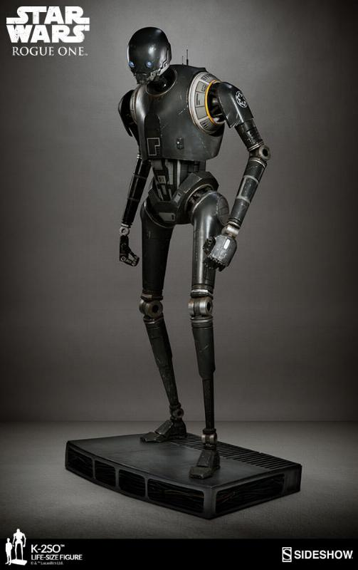 Sideshow Collectibles Star Wars  K-2SO Life-Size Figure K2so_l12