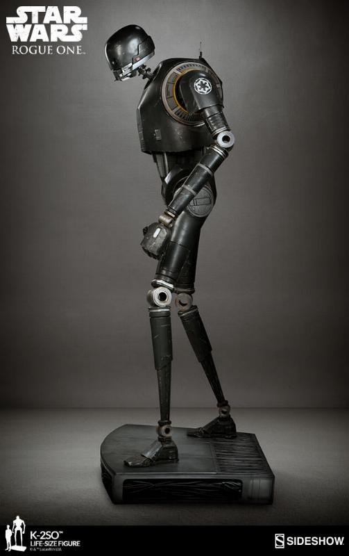 Sideshow Collectibles Star Wars  K-2SO Life-Size Figure K2so_l13
