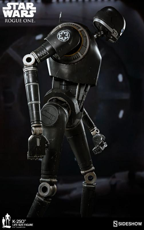 Sideshow Collectibles Star Wars  K-2SO Life-Size Figure K2so_l14