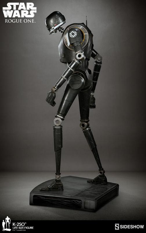 Sideshow Collectibles Star Wars  K-2SO Life-Size Figure K2so_l15