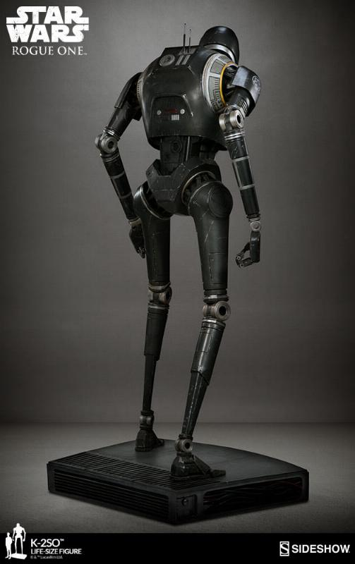 Sideshow Collectibles Star Wars  K-2SO Life-Size Figure K2so_l16