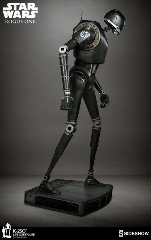 Sideshow Collectibles Star Wars  K-2SO Life-Size Figure K2so_l17