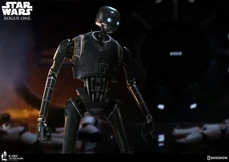 Sideshow Collectibles Star Wars  K-2SO Life-Size Figure K2so_l18