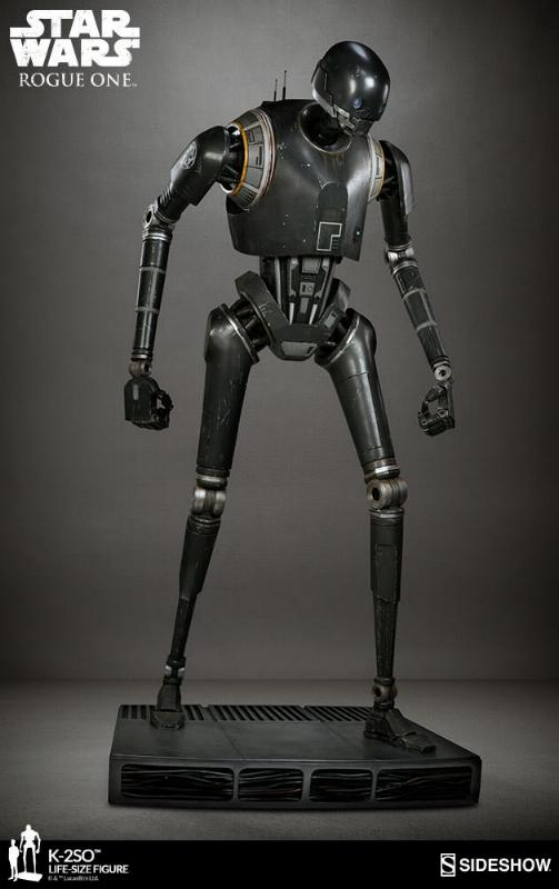 Sideshow Collectibles Star Wars  K-2SO Life-Size Figure K2so_l19