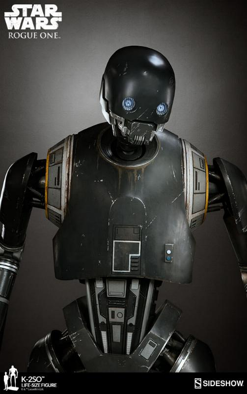 Sideshow Collectibles Star Wars  K-2SO Life-Size Figure K2so_l20