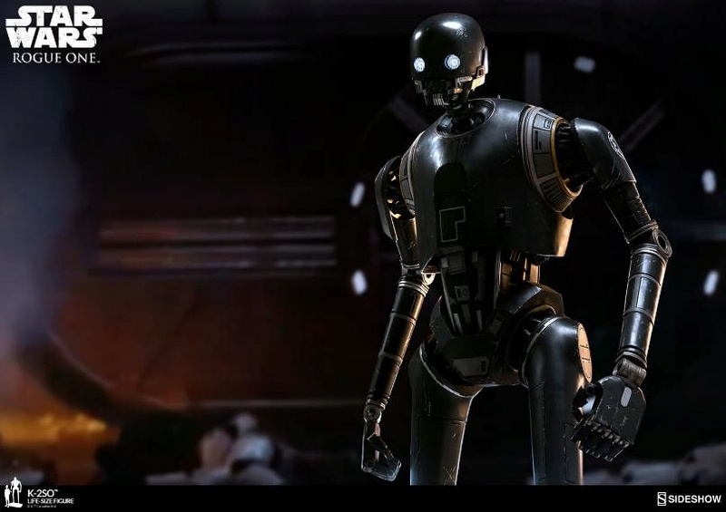 Sideshow Collectibles Star Wars  K-2SO Life-Size Figure K2so_l21