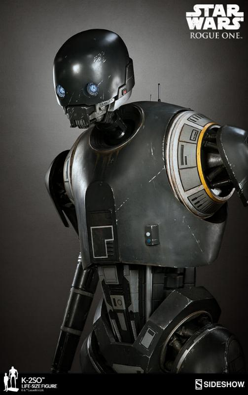 Sideshow Collectibles Star Wars  K-2SO Life-Size Figure K2so_l22