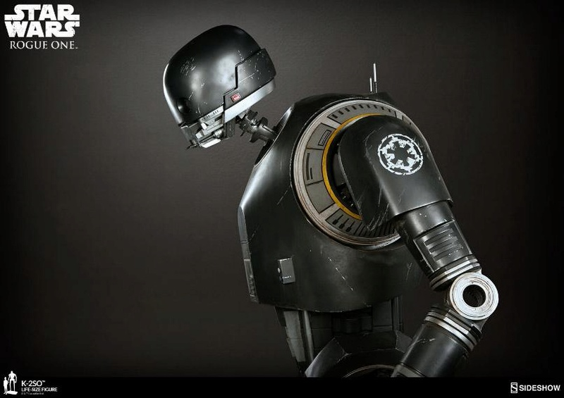 Sideshow Collectibles Star Wars  K-2SO Life-Size Figure K2so_l24