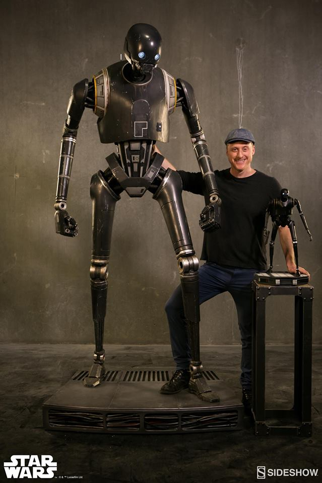 Sideshow Collectibles Star Wars  K-2SO Life-Size Figure K2so_l53