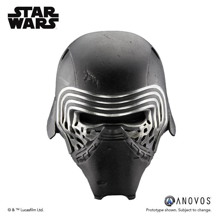 ANOVOS STAR WARS TFA : Kylo Ren Helmet Premier Line Kylo_r26