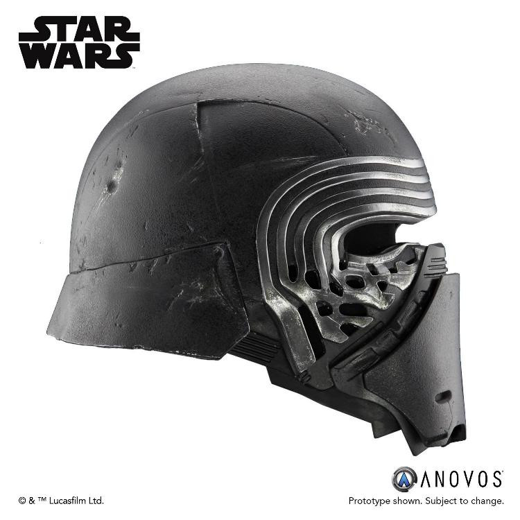 ANOVOS STAR WARS TFA : Kylo Ren Helmet Premier Line Kylo_r27