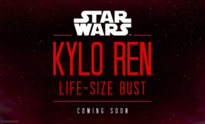 Sideshow Collectibles -  Kylo Ren Life Size Bust Kylore10