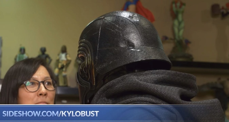 Sideshow Collectibles -  Kylo Ren Life Size Bust Kylore17