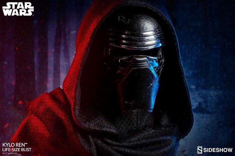 Sideshow Collectibles -  Kylo Ren Life Size Bust Kylore20
