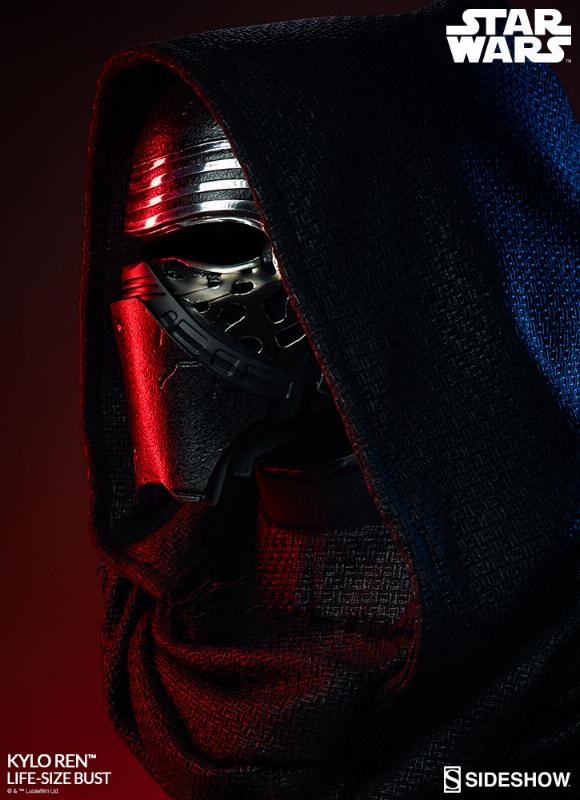 Sideshow Collectibles -  Kylo Ren Life Size Bust Kylore21