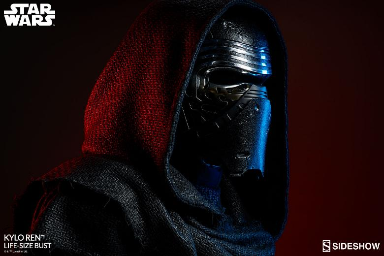 Sideshow Collectibles -  Kylo Ren Life Size Bust Kylore24