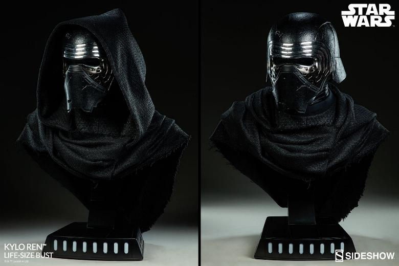 Sideshow Collectibles -  Kylo Ren Life Size Bust Kylore29