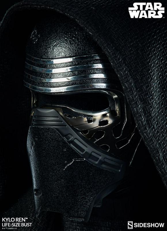 Sideshow Collectibles -  Kylo Ren Life Size Bust Kylore31