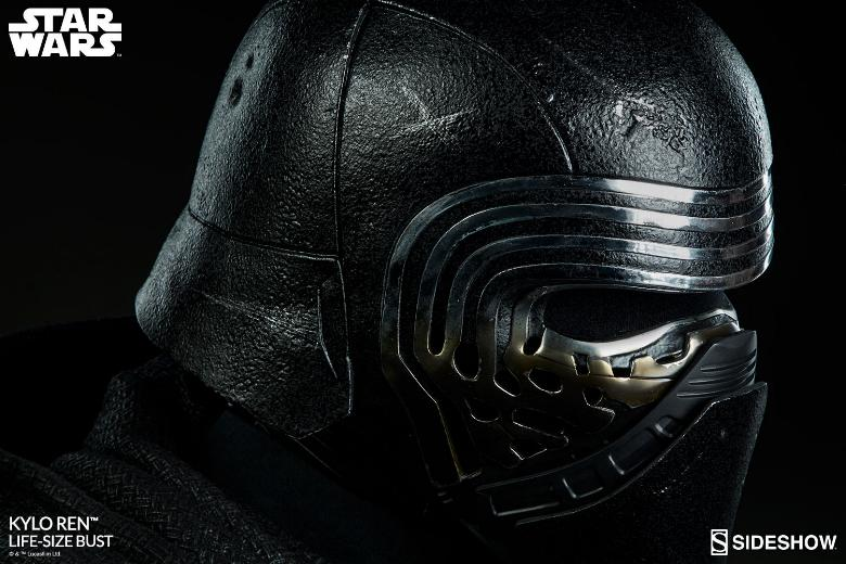 Sideshow Collectibles -  Kylo Ren Life Size Bust Kylore32