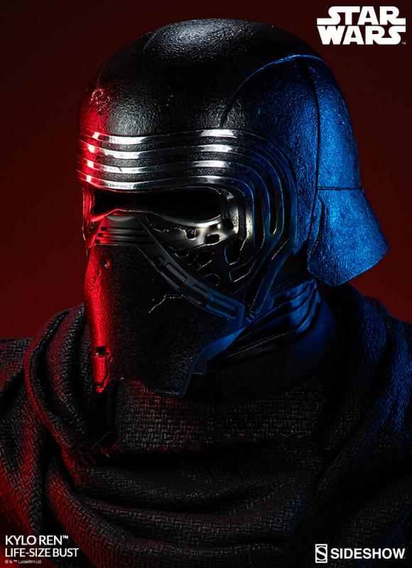 Sideshow Collectibles -  Kylo Ren Life Size Bust Kylore37