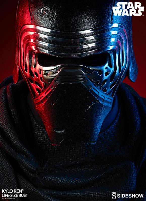 Sideshow Collectibles -  Kylo Ren Life Size Bust Kylore38