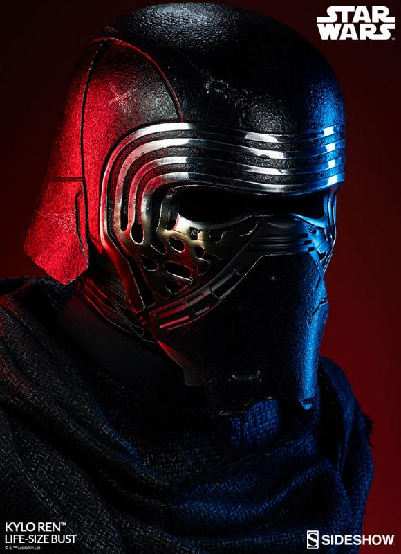 Sideshow Collectibles -  Kylo Ren Life Size Bust Kylore39