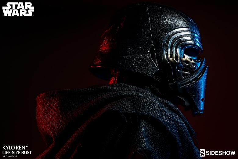 Sideshow Collectibles -  Kylo Ren Life Size Bust Kylore40