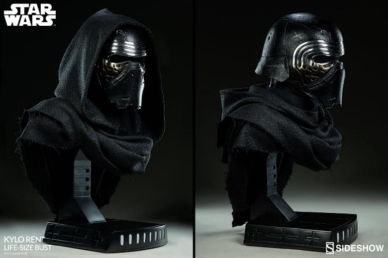 Sideshow Collectibles -  Kylo Ren Life Size Bust Kylore41