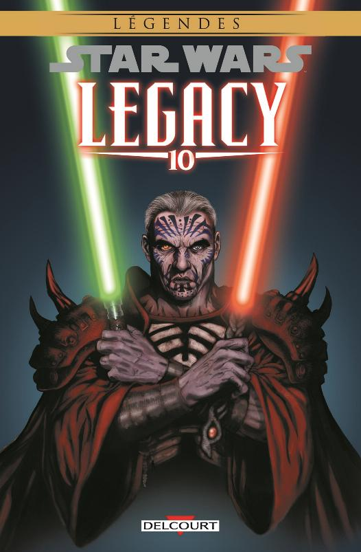 DELCOURT Star Wars - Legacy 10. Guerre totale Legacy15
