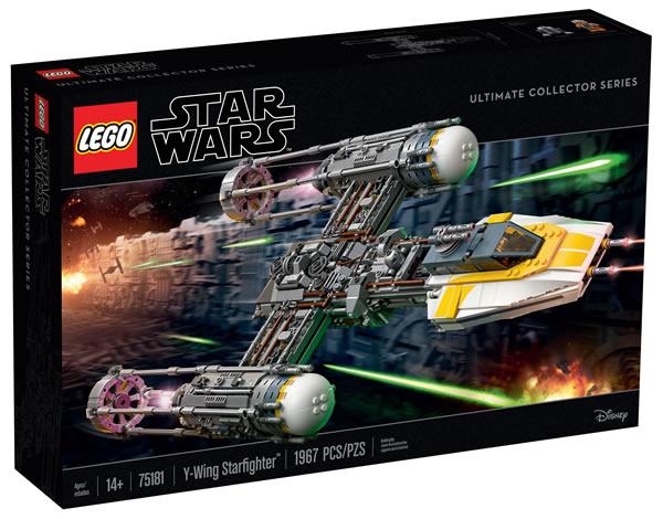 LEGO STAR WARS - 75181 - UCS Y-Wing Starfighter Lego-s15