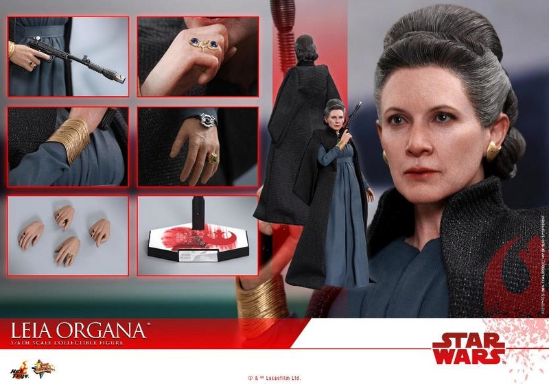 Hot Toys : Star Wars The Last Jedi 1/6th scale Leia Organa  Leia_t24