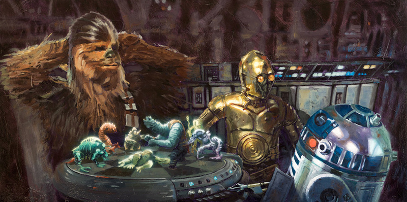 Artwork Star Wars - ACME - Let the Wookiee Win Let_th10