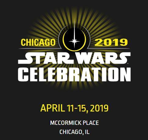 Star Wars Celebration 2019 - Chicago - 11-15 Avril 2019 Logo10