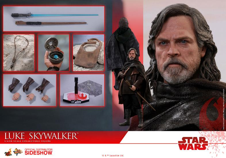 HOT TOYS - The Last Jedi - Luke Jedi Exile 1/6 scale figure Luke_e25