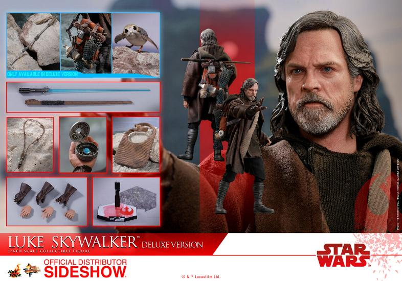 HOT TOYS - The Last Jedi - Luke Jedi Exile 1/6 scale figure Luke_e57