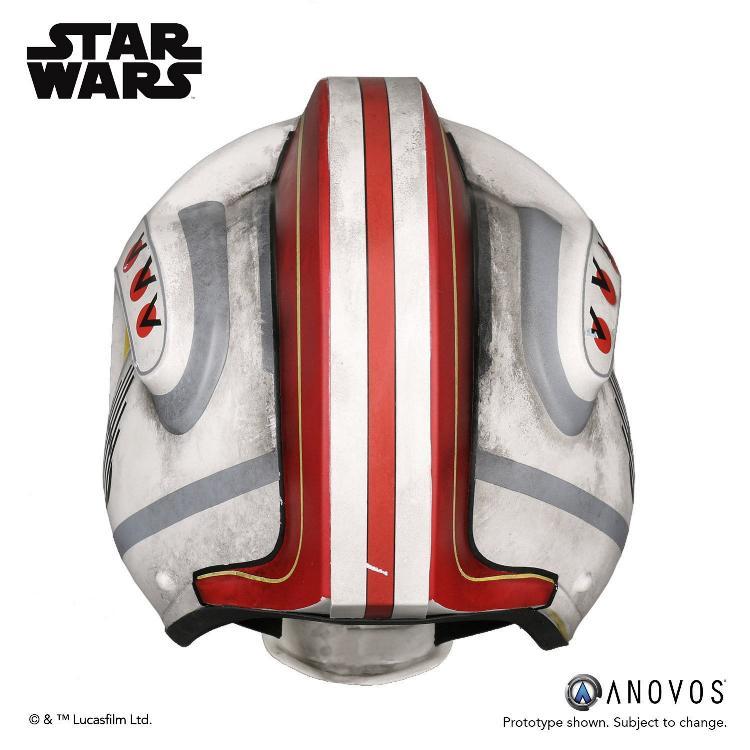 ANOVOS STAR WARS ANH Luke Skywalker Rebel Pilot Helmet  Luke_s13