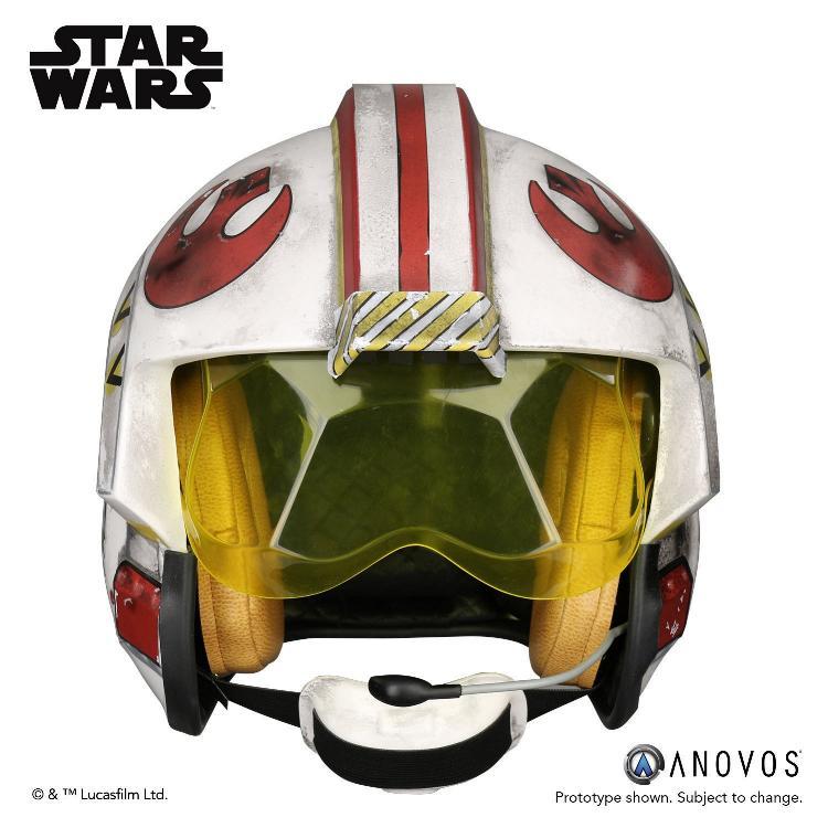 ANOVOS STAR WARS ANH Luke Skywalker Rebel Pilot Helmet  Luke_s14
