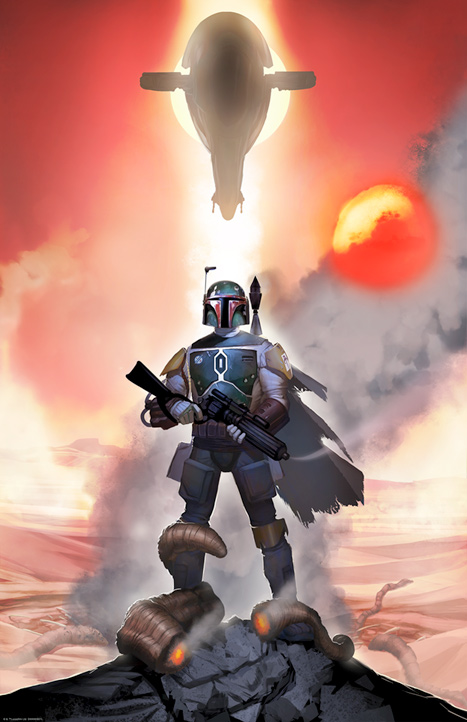 Artwork Star Wars - ACME - Mandalorian Mettle Mandal10