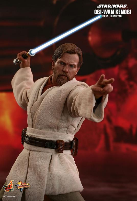 Hot Toys Revenge of the Sith Obi-Wan Kenobi 6th Scale Figure Obi_wa26