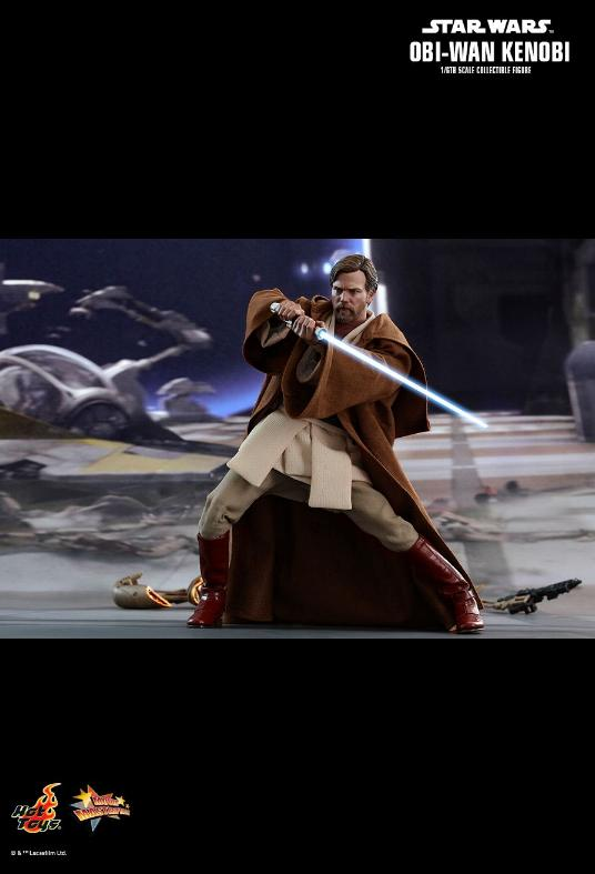 Hot Toys Revenge of the Sith Obi-Wan Kenobi 6th Scale Figure Obi_wa29