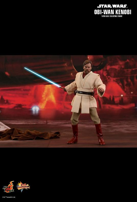 Hot Toys Revenge of the Sith Obi-Wan Kenobi 6th Scale Figure Obi_wa34