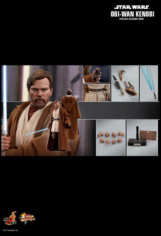 Hot Toys Revenge of the Sith Obi-Wan Kenobi 6th Scale Figure Obi_wa38