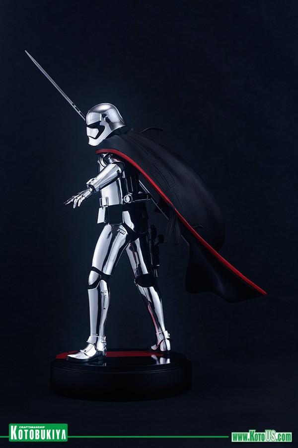 Kotobukiya - Star Wars The Last Jedi Captain Phasma ARTFX  Phasma14