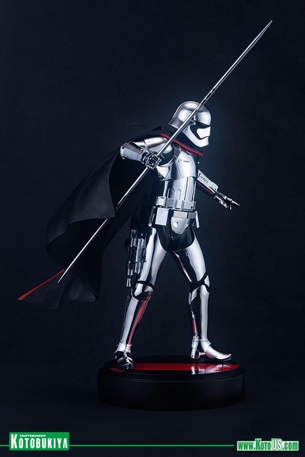 Kotobukiya - Star Wars The Last Jedi Captain Phasma ARTFX  Phasma16