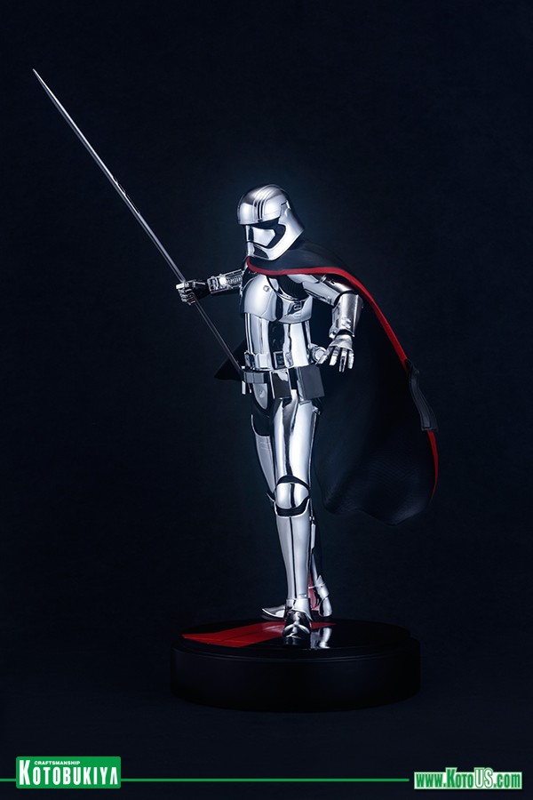 Kotobukiya - Star Wars The Last Jedi Captain Phasma ARTFX  Phasma17
